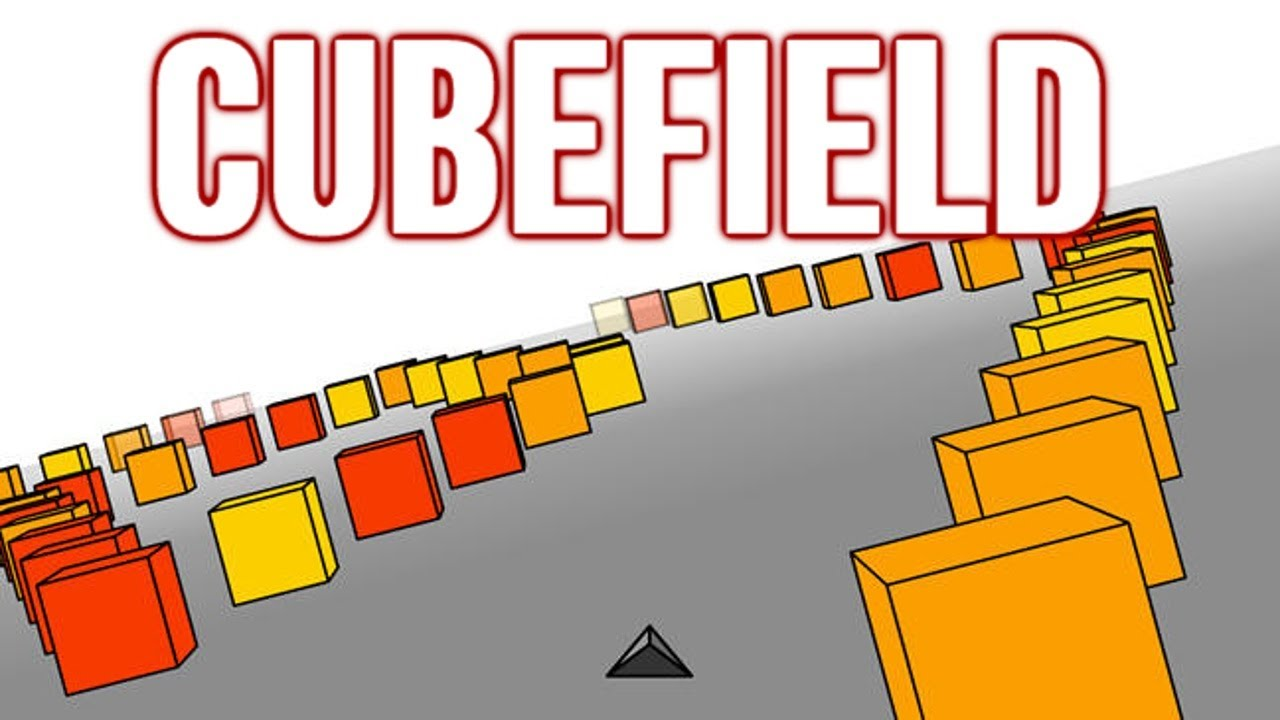 Pyramid + Field of Cubes = Addictive Game Called Cubefield